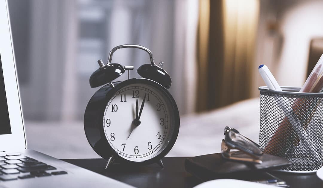 3 Time Management Principles You Should Start Using Right Now