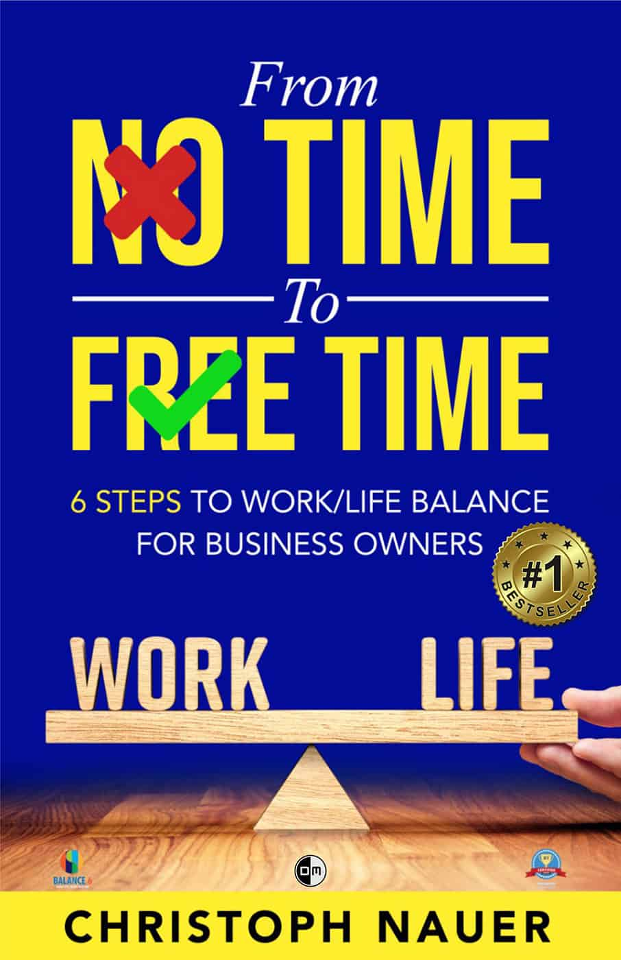"""Book cover for """"From No Time to Free Time"""" by Christoph Nauer"""
